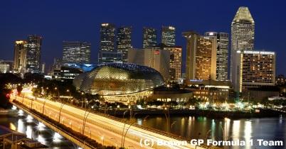 2009年シンガポールGP金曜プラクティス2回目の結果 thumbnail