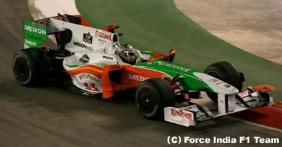 2009年シンガポールGP2日目(フォース・インディア) thumbnail
