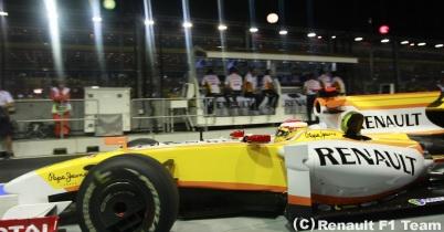 2009年シンガポールGP2日目(ルノー) thumbnail