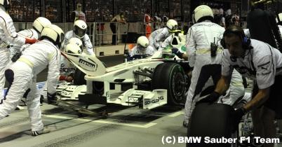 2009年シンガポールGP決勝(BMWザウバー) thumbnail