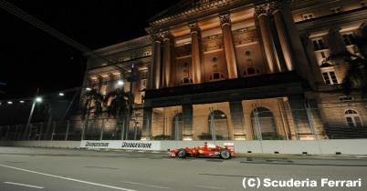 フェラーリの2009年シンガポールGP決勝総括 thumbnail