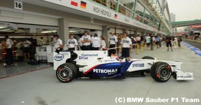 2009年日本GPプレビュー(BMWザウバー) thumbnail