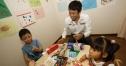 中嶋、小児がん患者施設を訪問 thumbnail