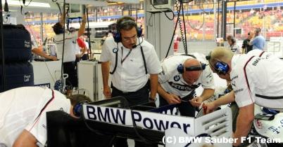 2009年日本GP1日目(BMWザウバー) thumbnail