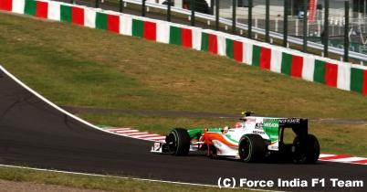 2009年日本GP決勝(フォース・インディア) thumbnail