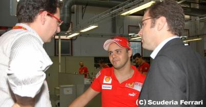 フェラーリ、マッサが12日にテスト thumbnail