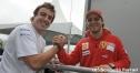 アロンソ、フェラーリでの初日 thumbnail