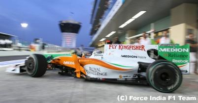 フォース・インディア、テストにインド系ドライバーを起用せず thumbnail