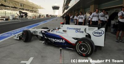 BMWザウバー、F1テストに参加 thumbnail