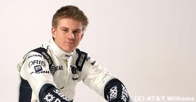 ヒュルケンベルグ、F1テストで首に痛み thumbnail